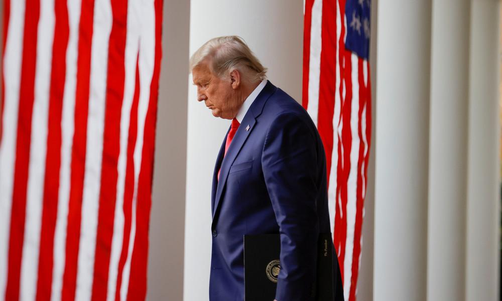 Präsident Trump deutet Biden-Sieg an und will weiter gegen das Wahlergebnis klagen