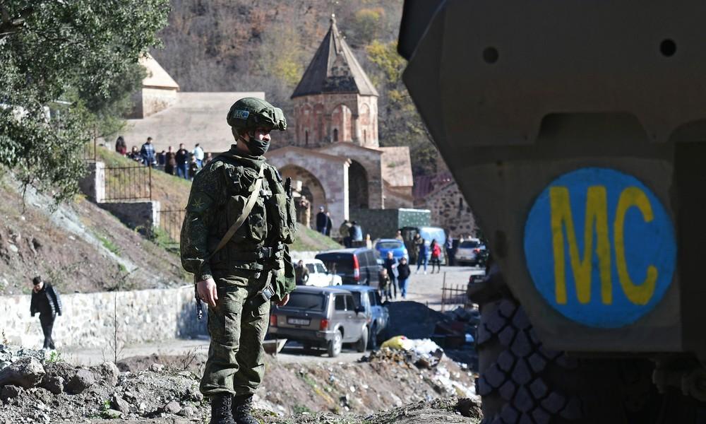 Bergkarabach: Russische Friedenstruppen nehmen christliches Kloster unter Schutz