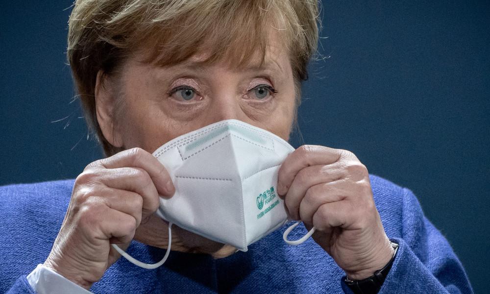 LIVE: Pressekonferenz von Angela Merkel nach Corona-Gipfel