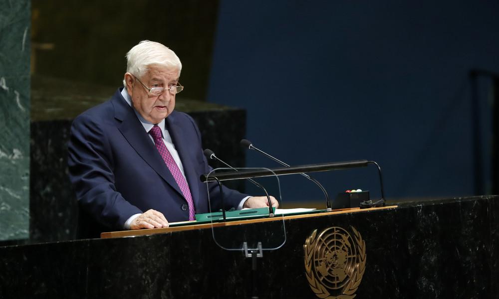 Syrien: Außenminister Walid al-Muallim mit 79 Jahren gestorben