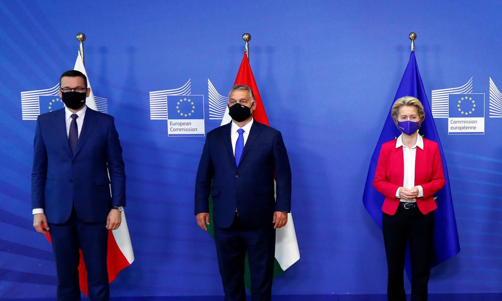 Polen und Ungarn blockieren Corona-Hilfspaket der EU