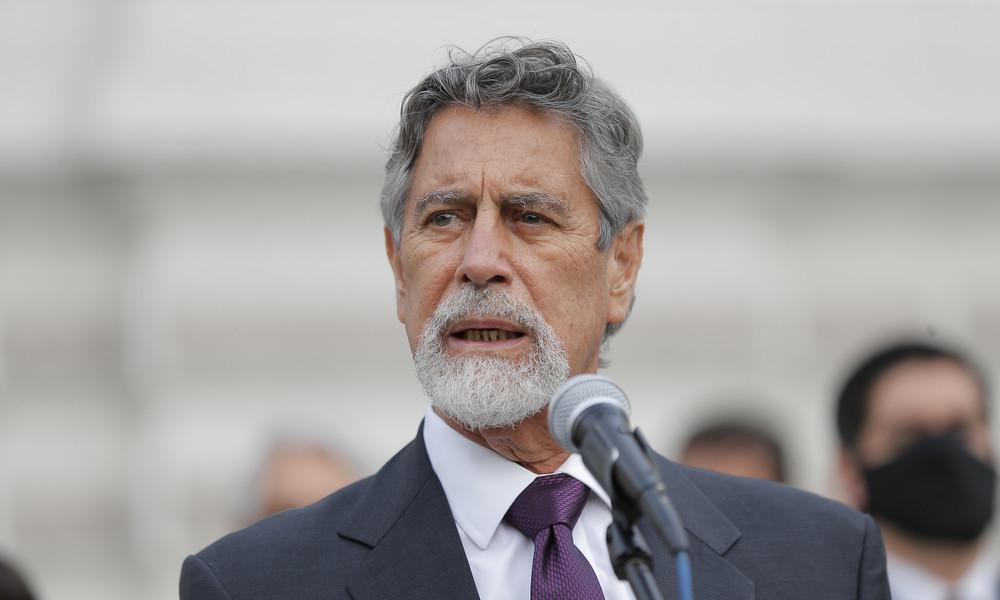 Peru ernennt dritten Präsidenten binnen einer Woche