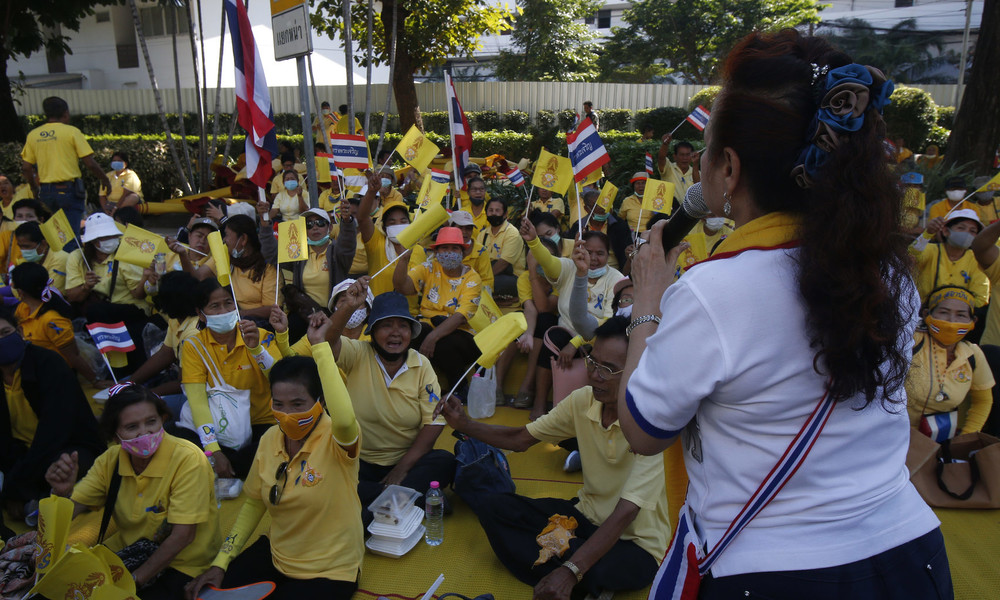 LIVE: Protest gegen die Regierung in Thailand artet in Gewalt aus