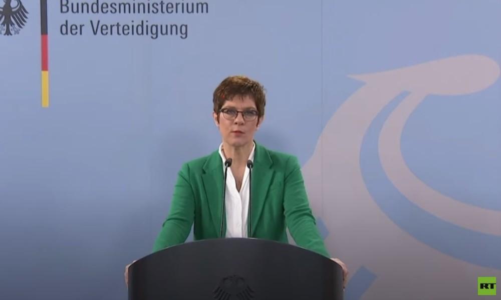 Kramp-Karrenbauer: Können Deutschland nur mit nuklearen Waffen der USA schützen