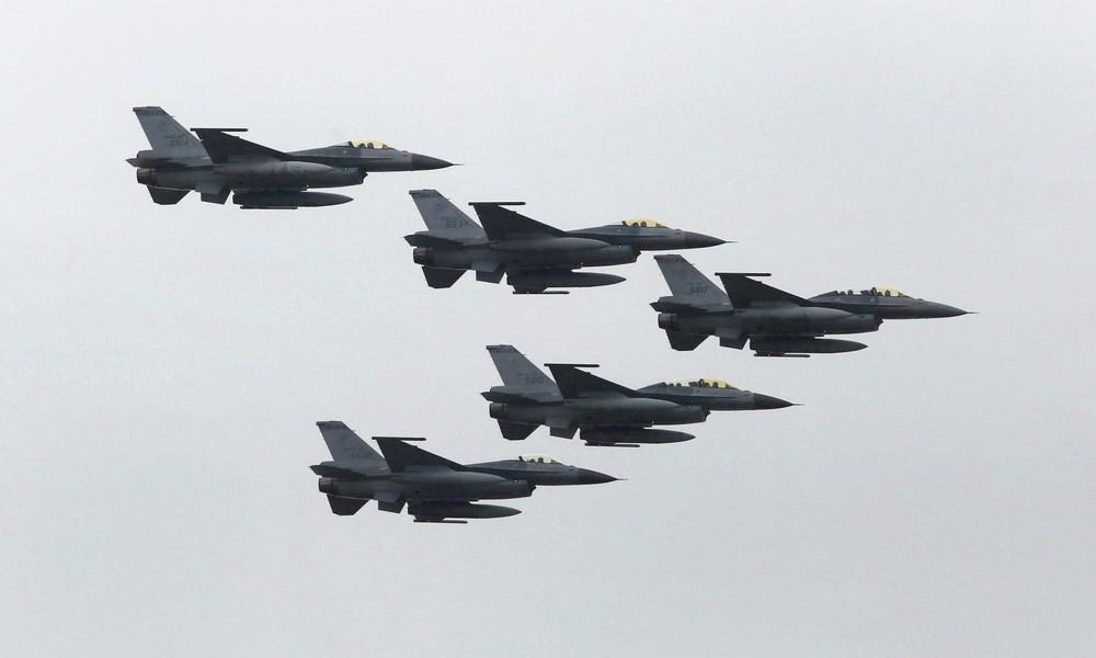 Nach erneutem Absturz: Taiwan belegt seine F-16-Kampfjets mit Flugverbot