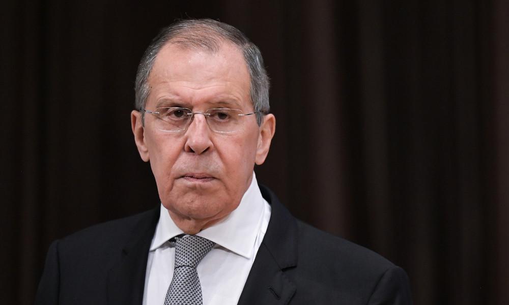"""Außenminister Lawrow: """"Russland ist am respektvollen Dialog mit Deutschland interessiert"""""""