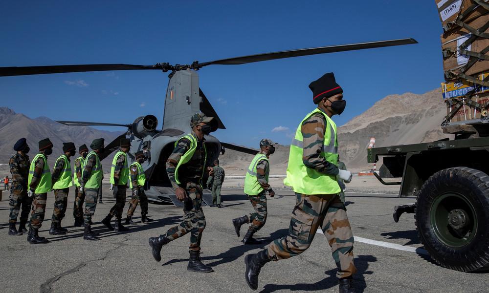 """""""Fake News"""": Indien dementiert Einsatz chinesischer """"Mikrowellenwaffen"""" an umstrittener Grenze"""