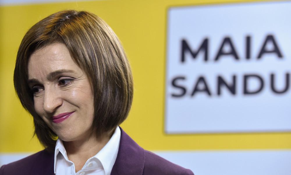 Moldawiens gewählte Präsidentin Sandu will Beziehungen zu EU und Russland intensivieren