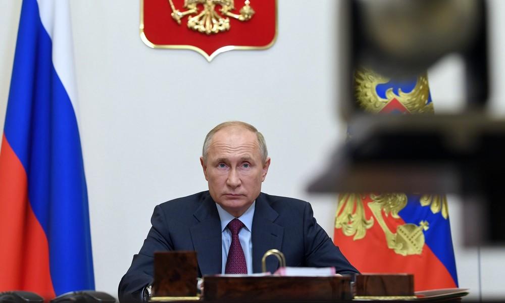 """""""Niemand sollte die Lage beschönigen"""": Putin zeigt sich besorgt über Corona-Zahlen in Russland"""