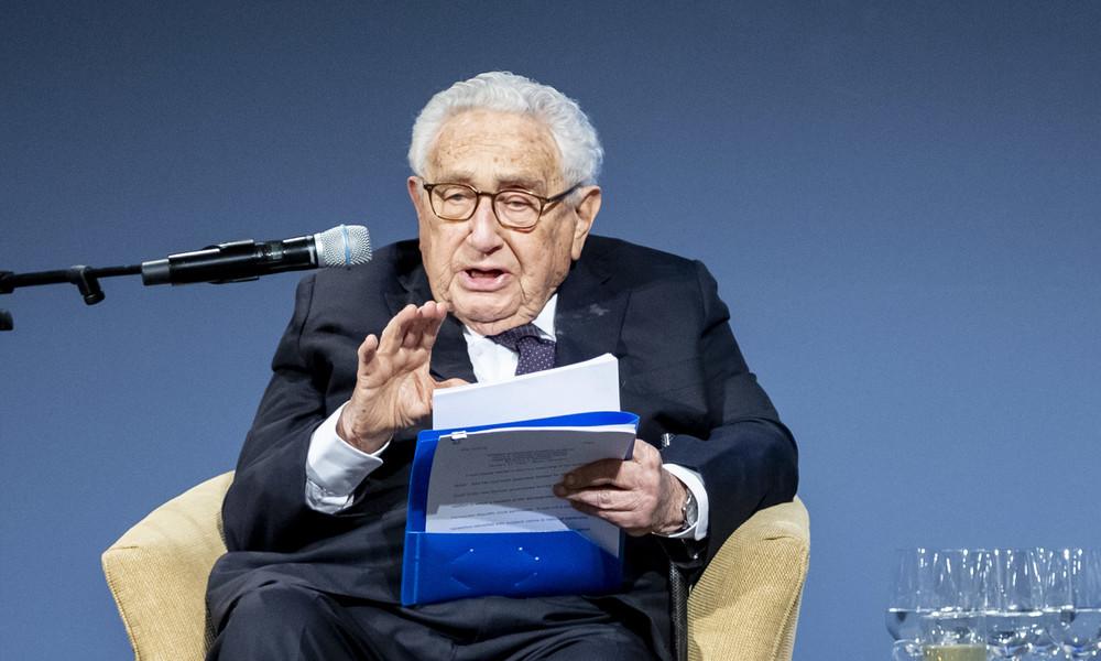 """Kissinger: Vergleichbar mit Erstem Weltkrieg – USA und China riskieren """"katastrophale"""" Konfrontation"""