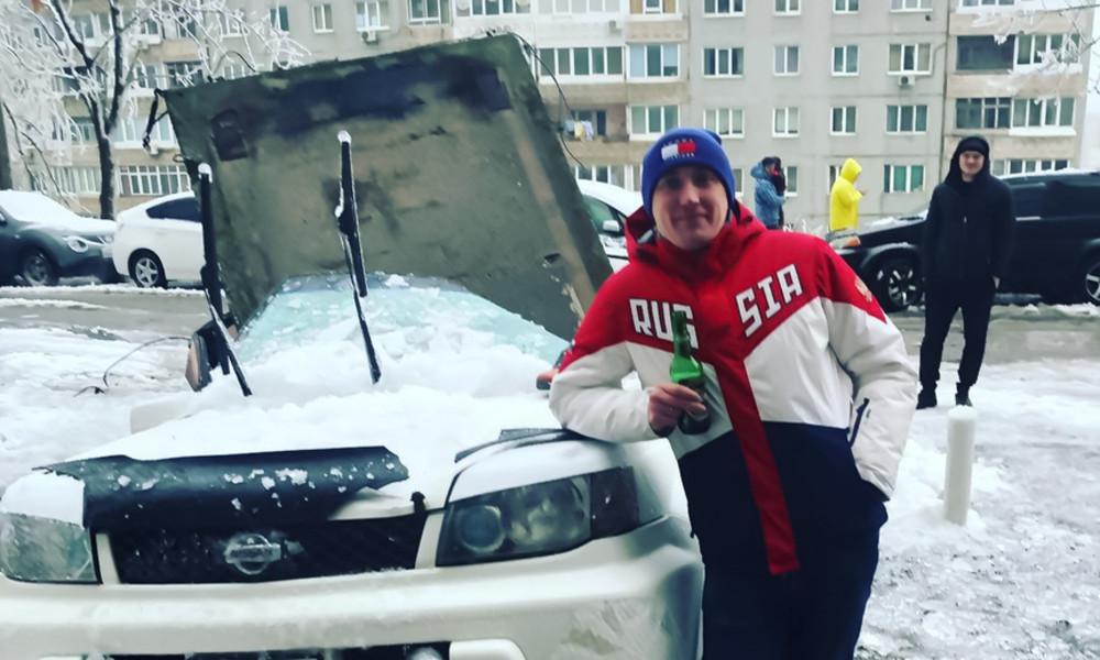 """""""Zweiter Geburtstag"""": Betonplatte stürzt aufs Auto – wenige Zentimeter vom Besitzer"""