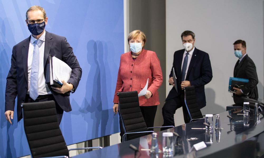 Treffen von Merkel mit Länderchefs: Verlängerung des Corona-Lockdowns bis Ende Dezember im Gespräch