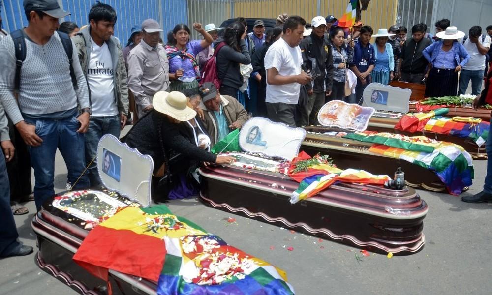 Bolivien: Untersuchung der Massaker der Putschregierung eingeleitet