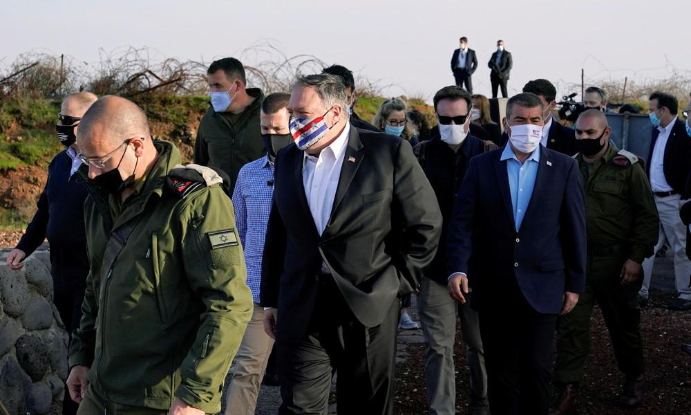 Syrien verurteilt in scharfen Worten Pompeos Besuch in den besetzten Golanhöhen