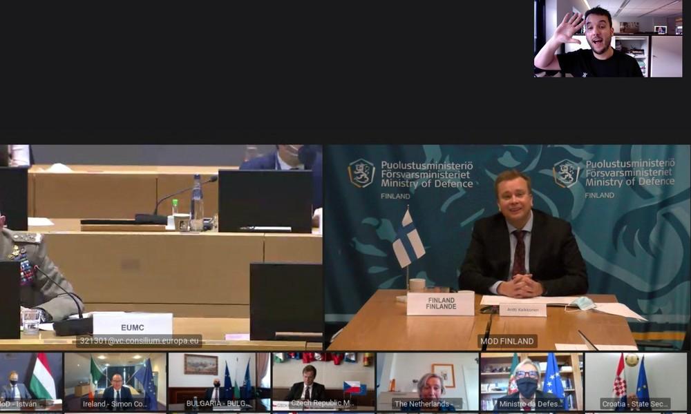 Versehentlich PIN-Code getwittert: Journalist nimmt an geheimem EU-Videotreffen teil