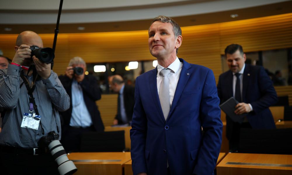 AfD-Parteitag: Höcke in Thüringen wiedergewählt