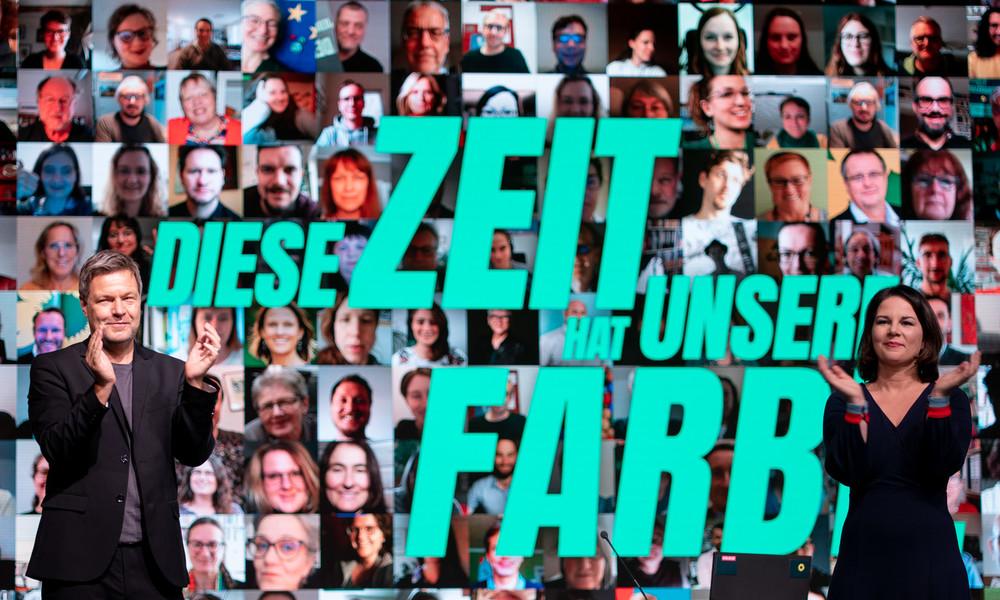 """Der """"Beginn einer neuen Epoche"""": Grüne bekennen sich auf Bundesparteitag zu Macht-Gen"""