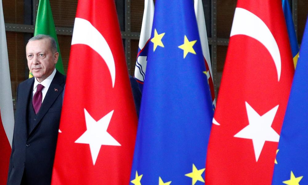 """""""Türkei ist integraler Teil Europas"""": Erdoğan fordert volle EU-Mitgliedschaft"""