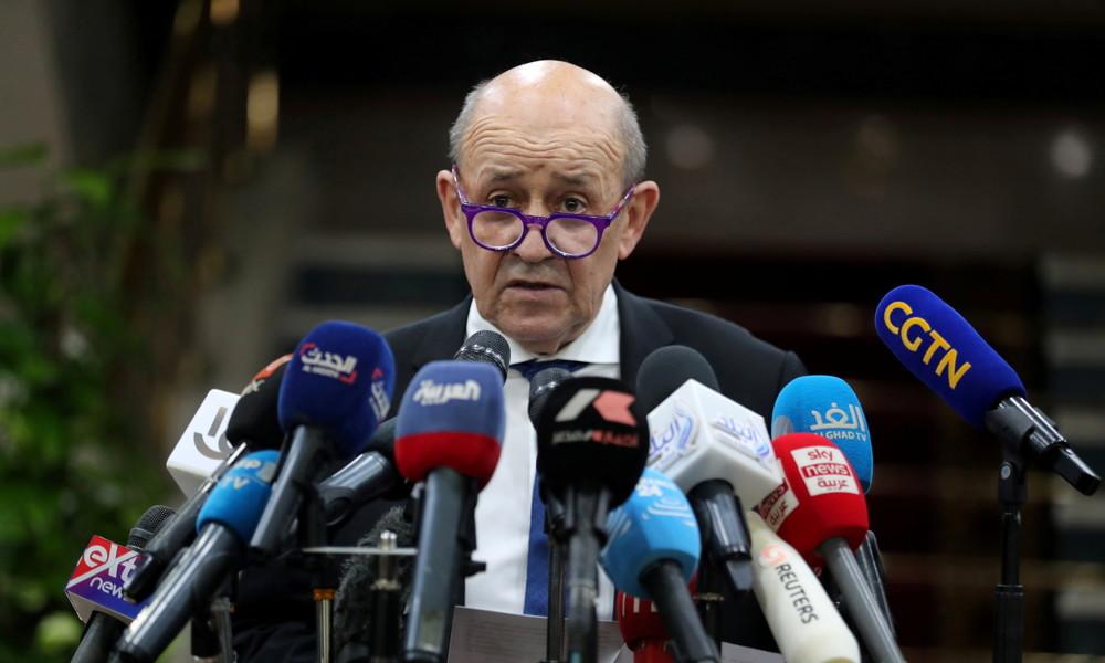 Französischer Außenminister: Mit Beschwichtigungen kann Erdoğan EU-Sanktionen nicht vermeiden