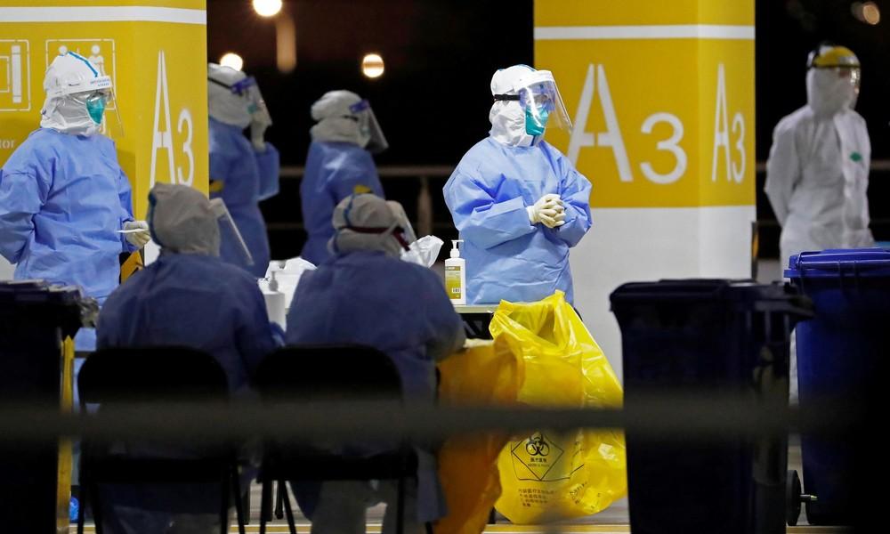 Chaos am Flughafen Schanghai: Frachtpersonal muss sich auf Coronavirus testen lassen