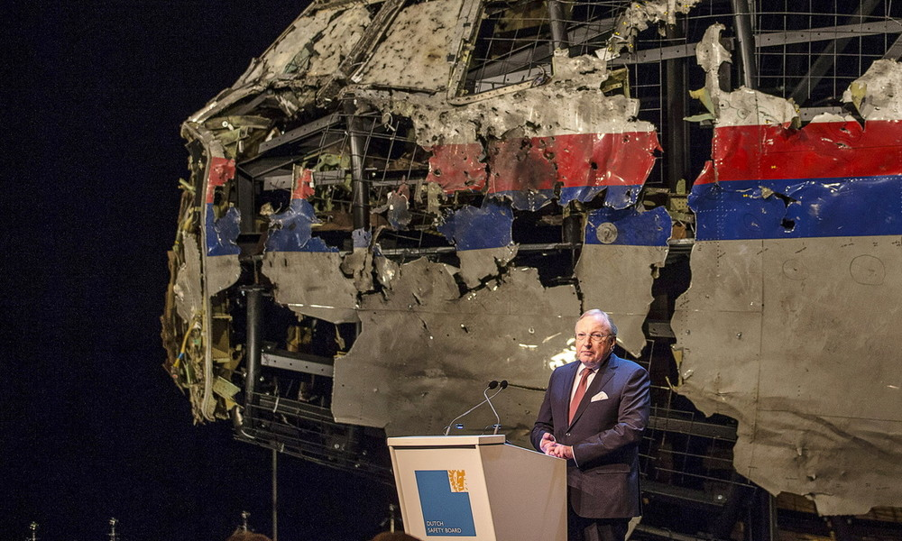 Zwischenbericht MH17: Absturz auf Grund von äußerer Einwirkung