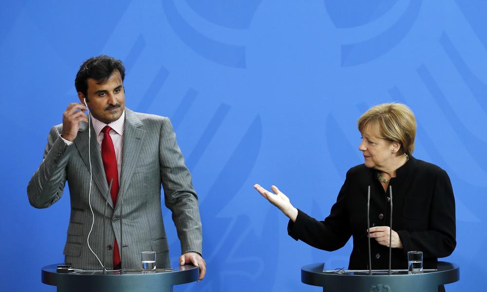 Besuch bei Merkel: Emir von Katar bestreitet ISIS-Finanzierung