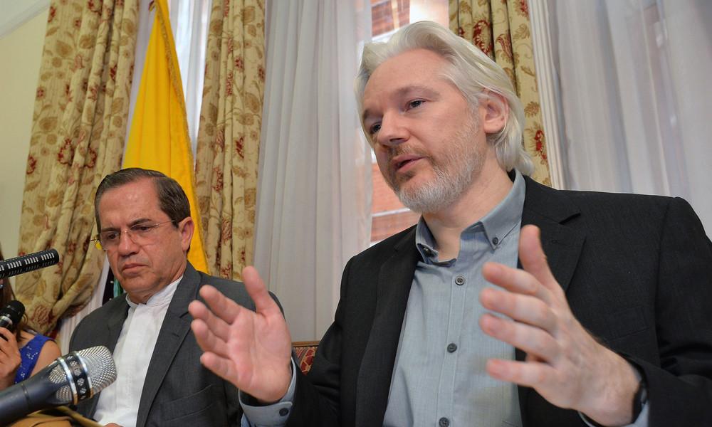 """WikiLeaks Gründer Assange:  """"Google ist eine privatisierte Fassung der NSA"""""""