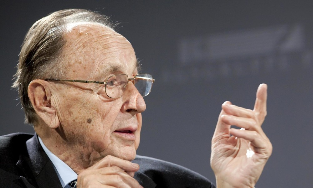 Ex-Außenminister Genscher für Ende der Russland-Sanktionen