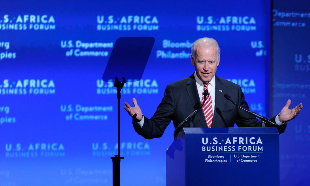 """US-Vizepräsident Joe Biden spricht Klartext: """"Wir haben Europa zu den Russlandsanktionen gezwungen"""""""