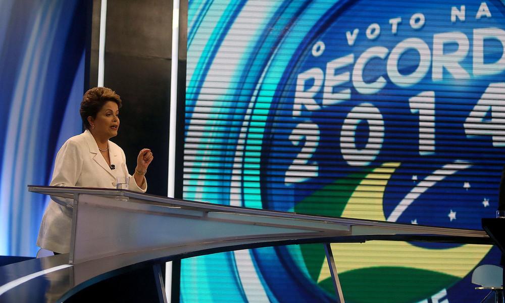 Wahlen in Brasilien: Linke gewinnt erste Runde der Präsidentschaftswahlen