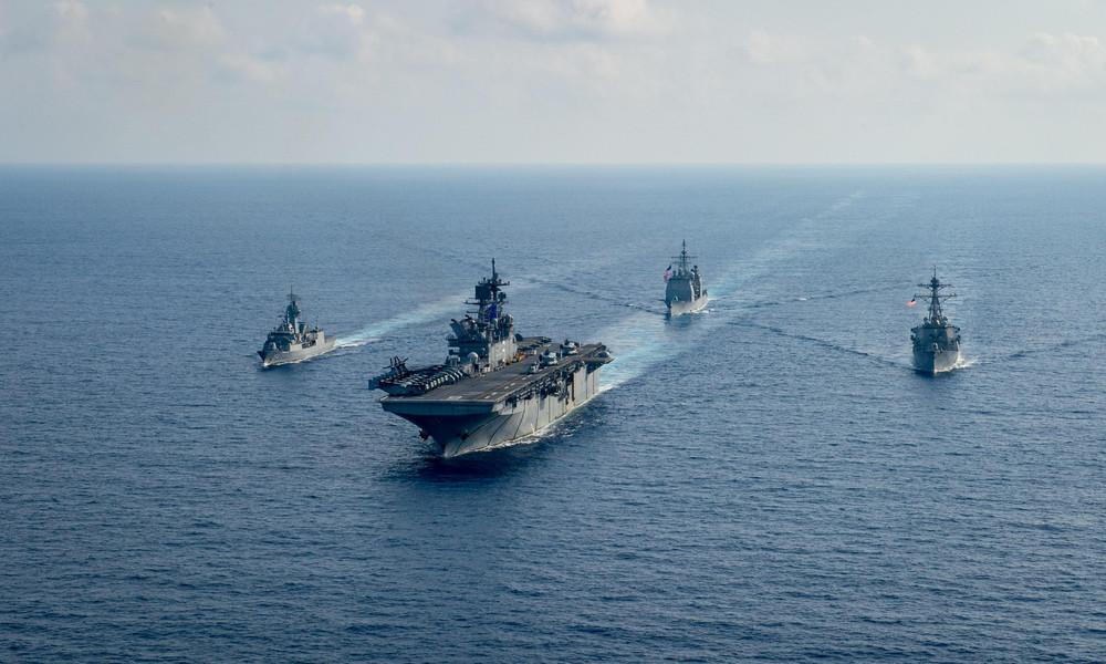 """""""Wir gehen nicht weg"""": Washington will Peking im Streit um das Chinesische Meer abschrecken"""