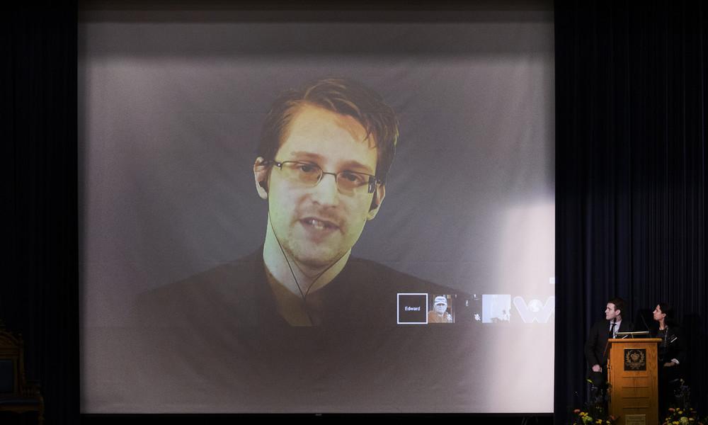 """Snowden mahnt: """"Dropbox und Co sind Feinde der Privatsphäre"""""""