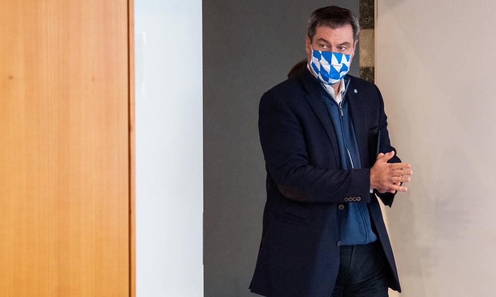 Bayerns Ministerpräsident Söder: Lockdown verlängern und vertiefen