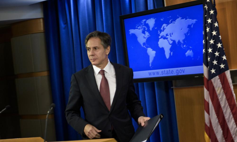 """Künftiger US-Außenminister: Biden signalisiert Abkehr von """"Amerika zuerst""""-Politik"""