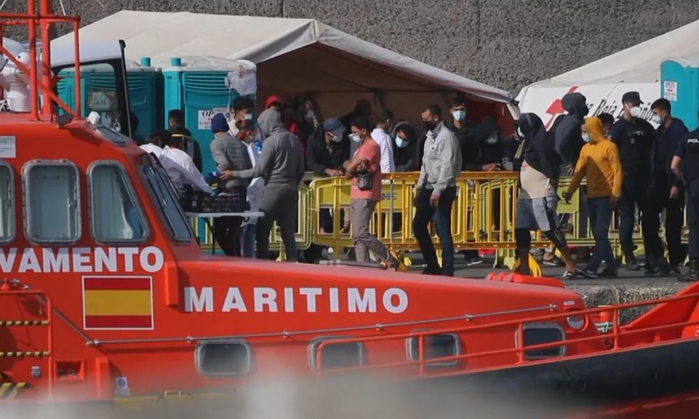 """""""Lager der Schande"""": Migrantenkrise auf Gran Canaria spitzt sich zu (Video)"""