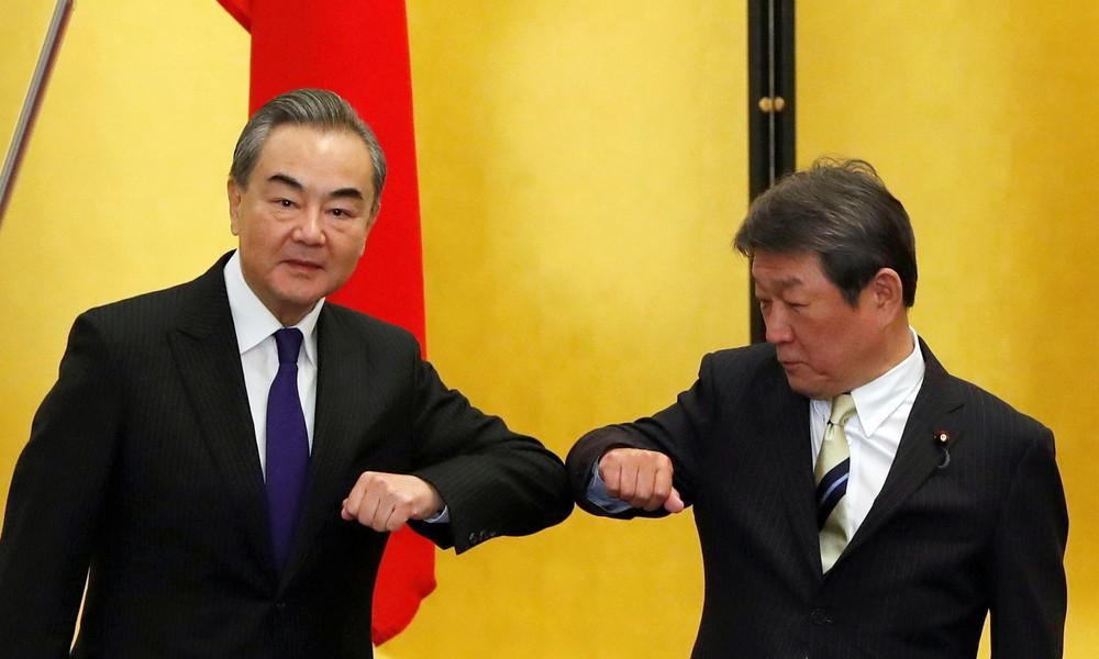 Peking und Tokio wollen in der Region gemeinsam ein Meer des Friedens schaffen