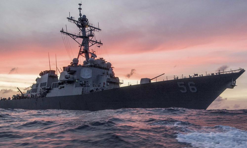 """US-Marine verteidigt Eindringen in russische Gewässer: """"Moskaus maritime Ansprüche sind exzessiv"""""""