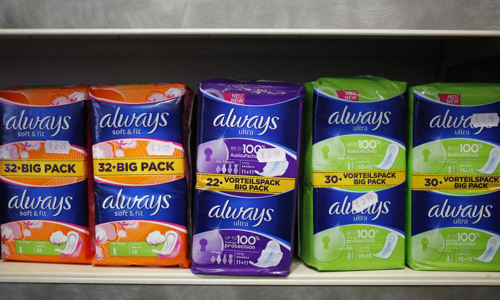 Schottland stimmt für kostenlose Binden und Tampons