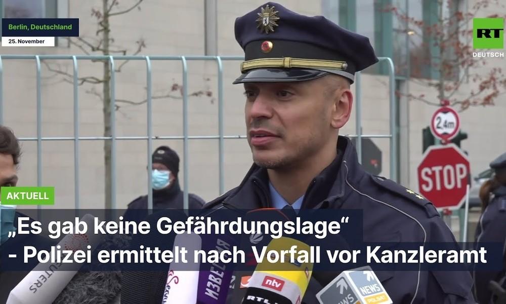 """""""Es gab keine Gefährdungslage"""" – Polizei ermittelt nach Vorfall vor Kanzleramt"""