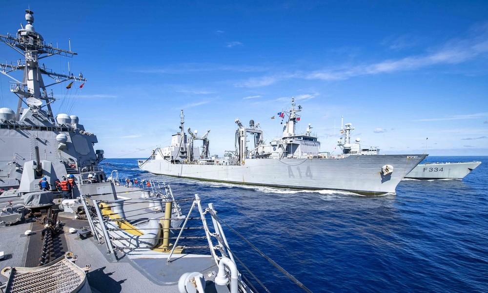 Die Krim in Reichweite: US-Militär feuerte Raketen ins Schwarze Meer