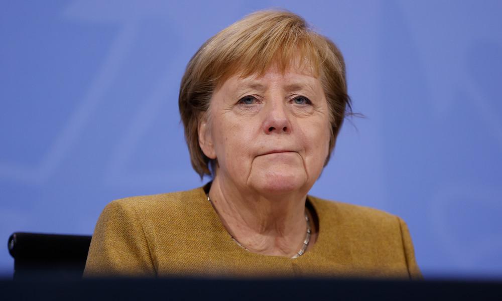 Bundeskanzlerin Merkel: Lockdown wird mindestens bis zum 20. Dezember verlängert