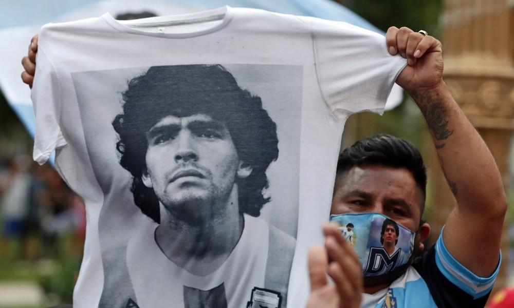 """""""Weil Diego ewig ist"""" – Reaktionen zum Tod von Maradona"""