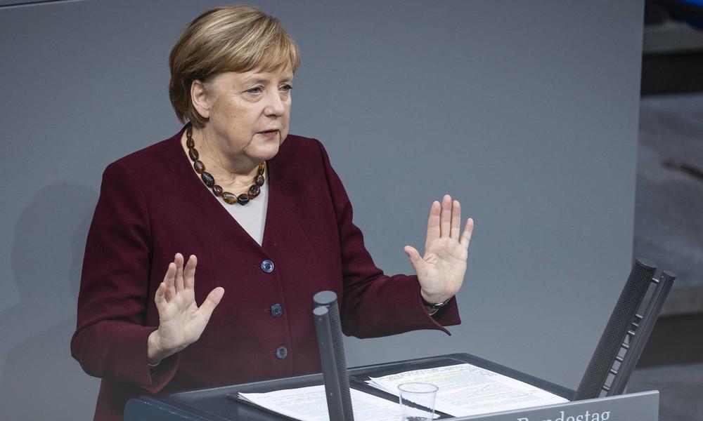 """Kanzlerin Merkel beschwört Solidarität gegen Corona: """"Der Winter wird schwer, aber er wird enden"""""""