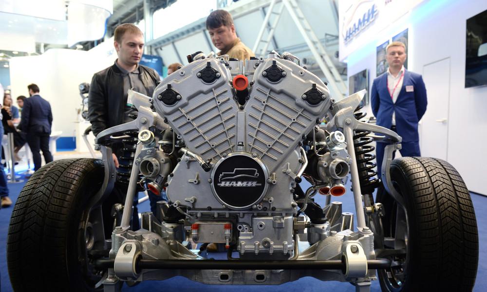 """""""Zaren-Motor"""" - Russland entwickelt 850 PS-Motor"""