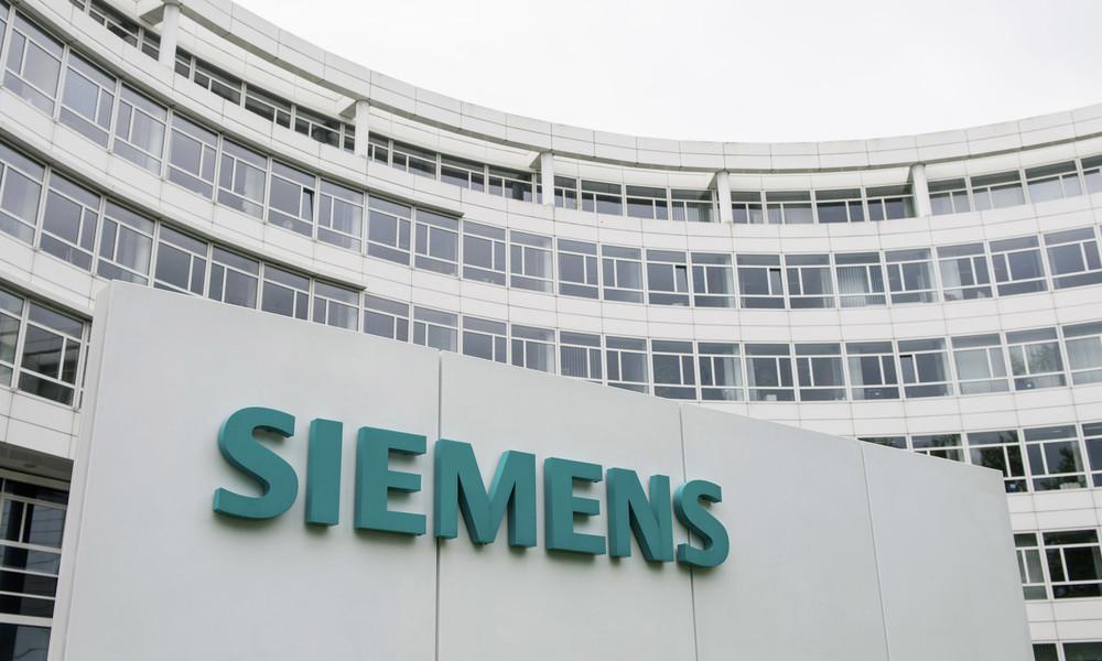 Siemens verzeichnet Milliarden-Einbußen in Russland