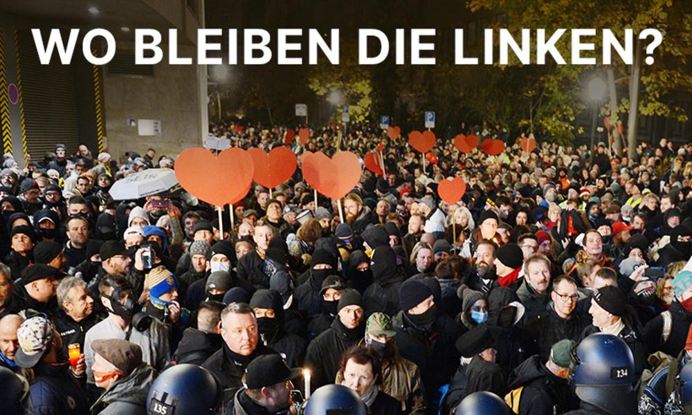 Corona-Proteste in Deutschland und die Abstinenz der linken Parteien