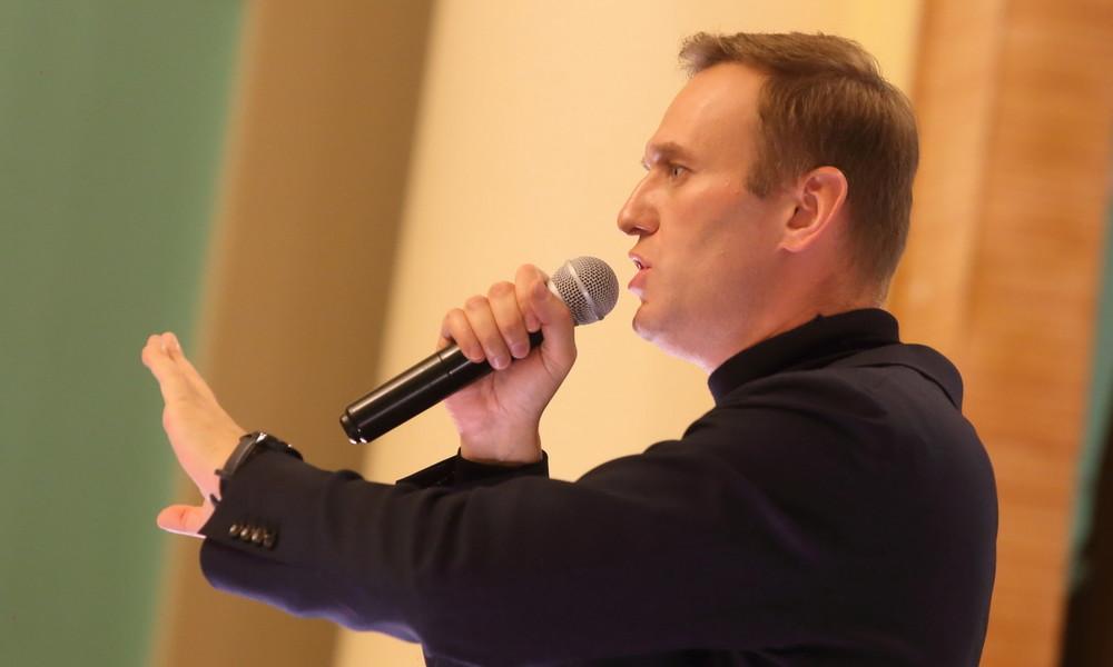 Alexei Nawalny ruft im EU-Parlament zu Sanktionen gegen russischen Führungszirkel auf