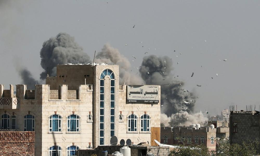 G20-Gastgeber: Saudischer Bombenhagel im  Jemen