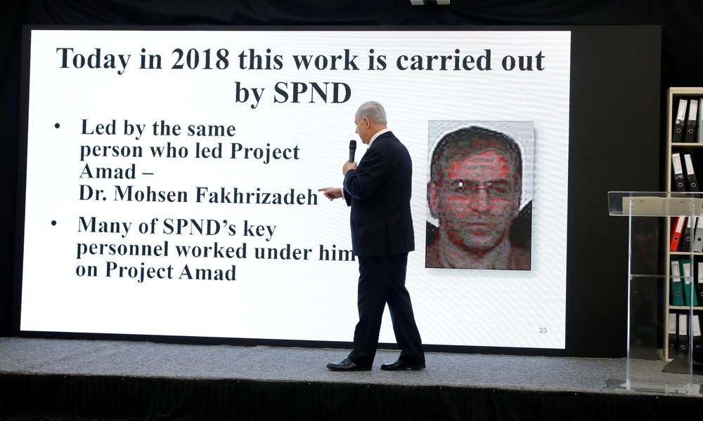 """Irans Präsident beschuldigt """"Imperialismus und zionistische Söldner"""" des Mordes an Atomphysiker"""