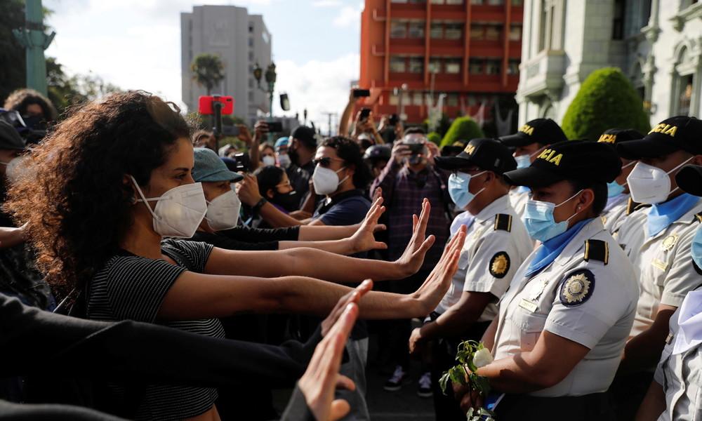 Erneut Proteste gegen Regierung in Guatemala